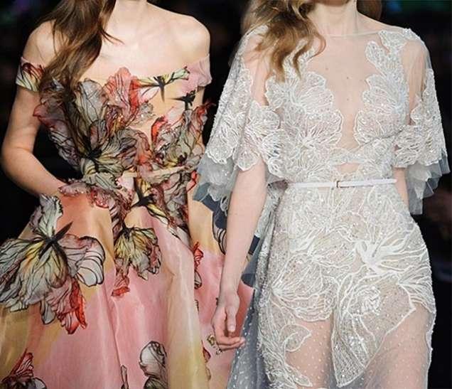 Нежни рокли с цветя