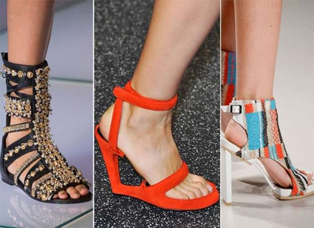 Модерни сандали 2015