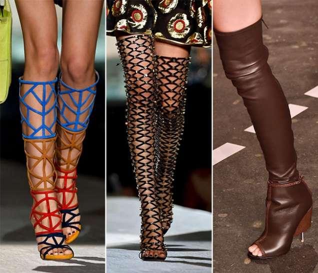 Цветни римски сандали