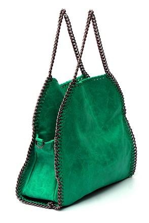 Зелена модерна чанта 2015