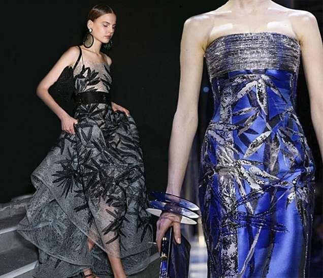 Цветни официални рокли 2015