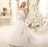 Ефектна сватбена рокля с бродерия 2015