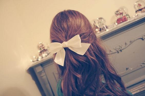 Сладка панделка за коса