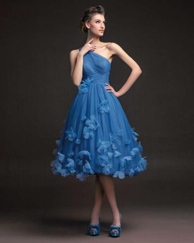 Страхотна ретро шаферска рокля