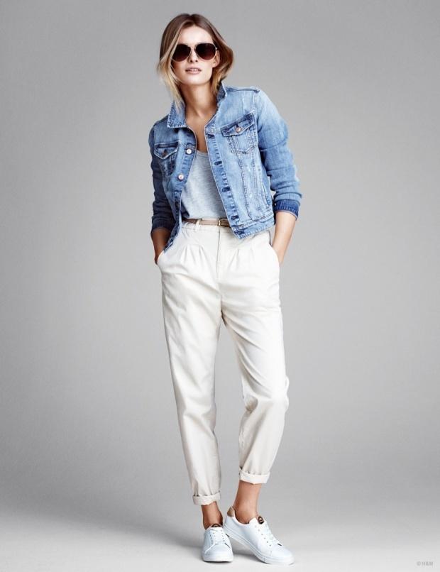 Спортен панталон и късо дънково яке 2015