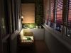 Уютен остъклен балкон с диван