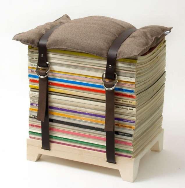 Табуретка от книги