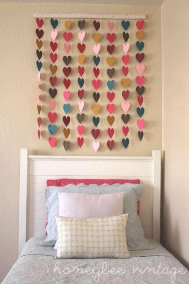 Сърца украса за стена