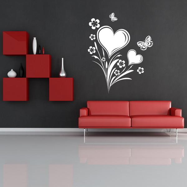 Декорация за стена със сърца
