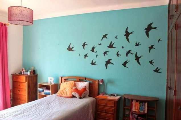 Красива декорация за стена с птички