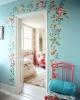 Декорация за стена с красиви цветя