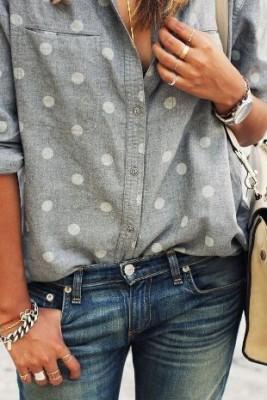 Готина риза с точки