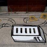 Изкуство на улицата - тостер