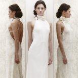 Булчинска рокля по врата с гол гръб Jenny Packham 2013
