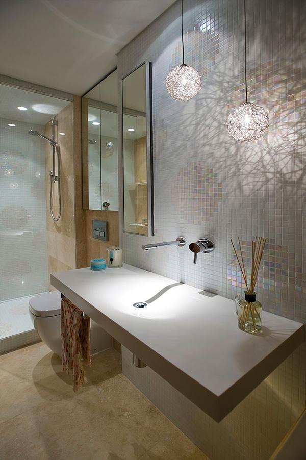 Малък апартамент в Сидни - красива баня