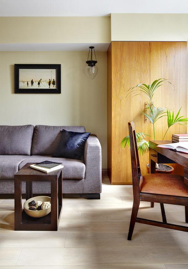 Модерен апртамент със семпъл дизайн