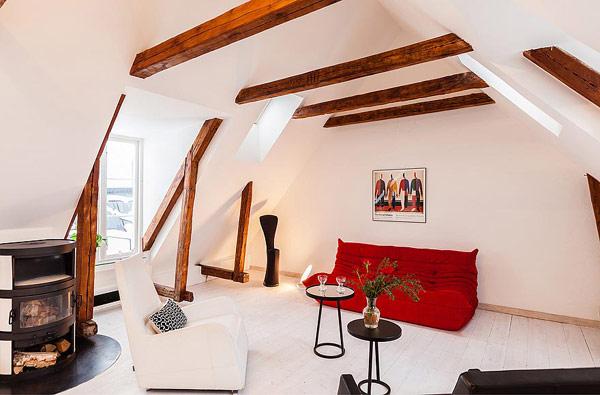 Двуетажен апартамент в Стокхолм
