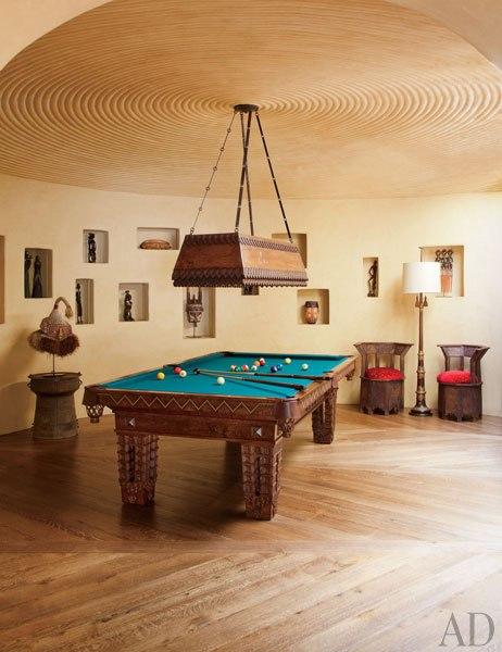 Домът на Уил Смит - стая за билярд