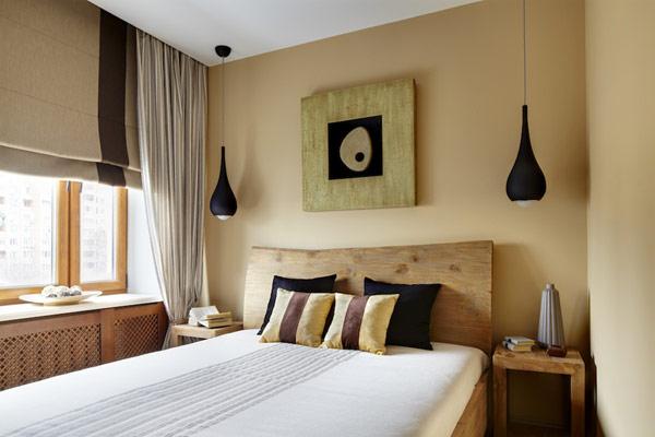 Спалня масивно дърво с нощни шкафчета масивно дърво