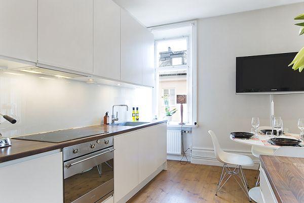 Малък апартамент с отворен план