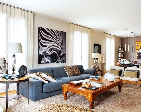 Апартамент в Майорка - дневна с отворен план