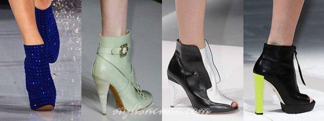 мода 2013 обувки Бетси Джонсън, Mulberry, Sportmax. Just Cavalli