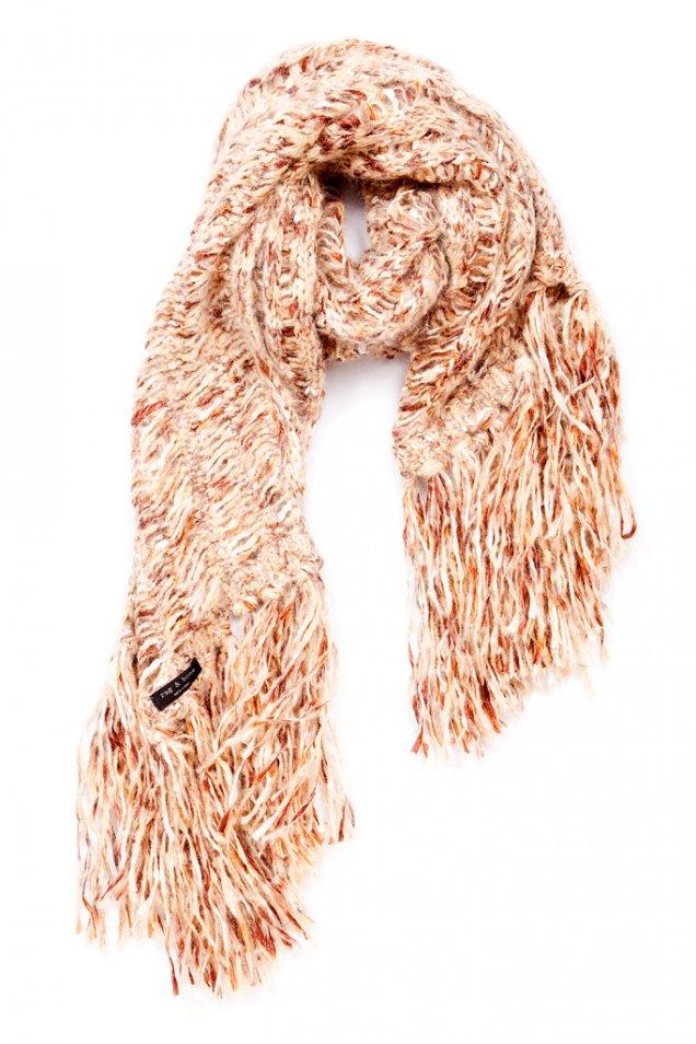 Плетен шал преливащи цветове Rag and bone есен зима 2012