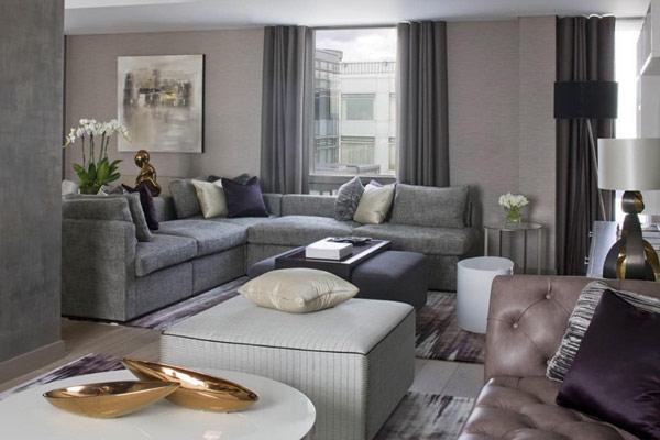 Два апартамента слети в един - диван ъгъл