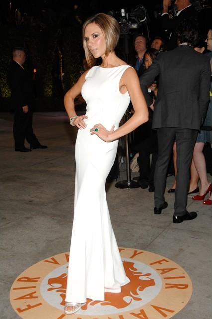 Виктория Бекъм на партито на Vanity Fair за Оскари 2007 г.