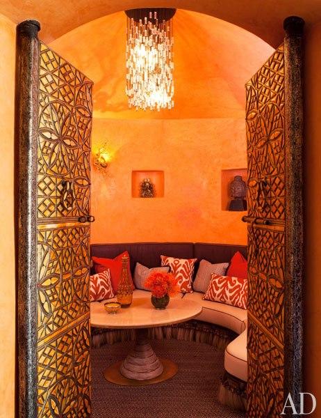 Домът на Уил Смит - сепаре в африкански стил