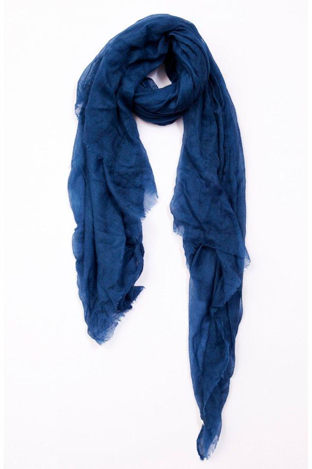 Тънък син шал Rag and bone есен зима 2012