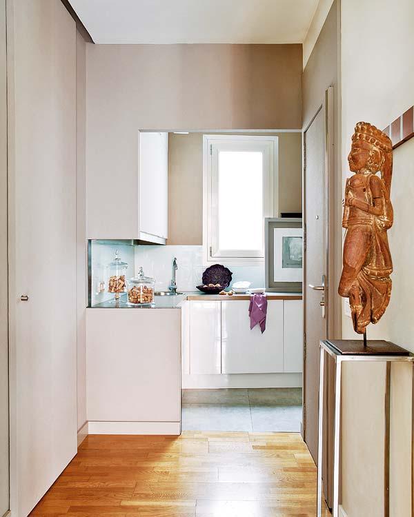 Апартамент в Майорка - изглед към кухнята
