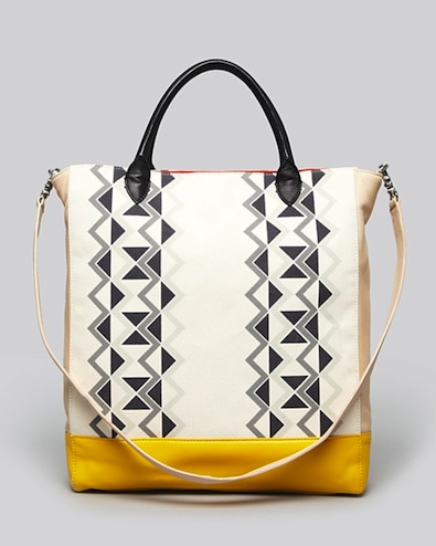 Two Trends, One Tote Чанта 2013 DKNY