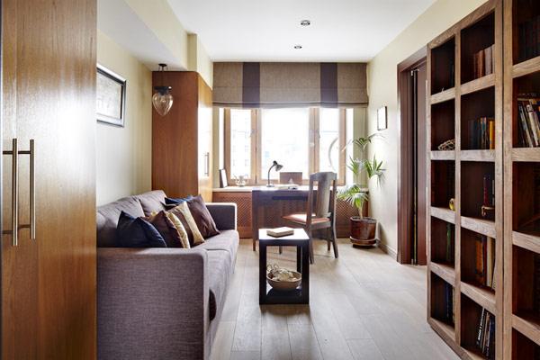 Уютен апартамент - библиотека
