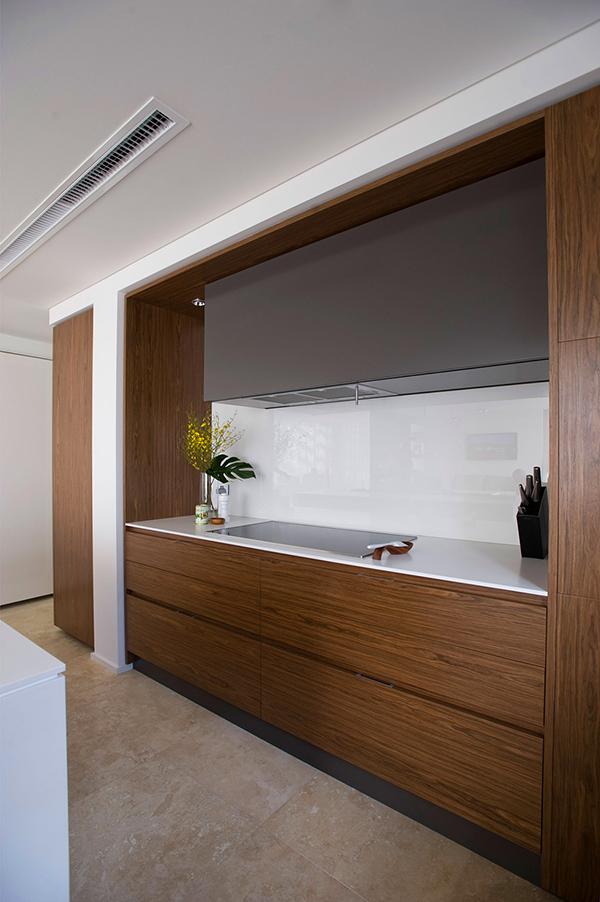 Малък апартамент в Сидни - кухня в детайли