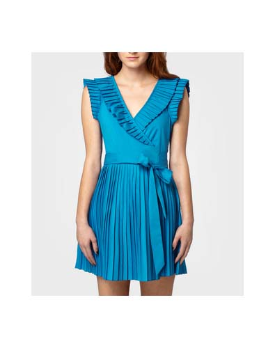 The New Girl Dress Тюркоазена рокля