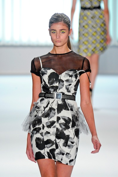 Black-and-White Рокля Milly's Spring 2013 ladylike collection
