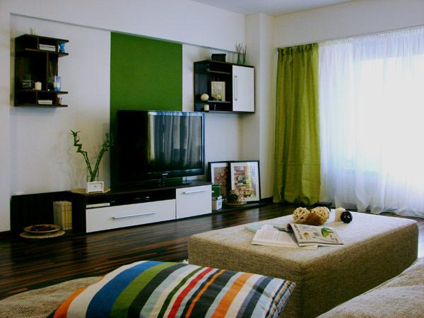 Свеж апартамент в Букурещ  - едностаен