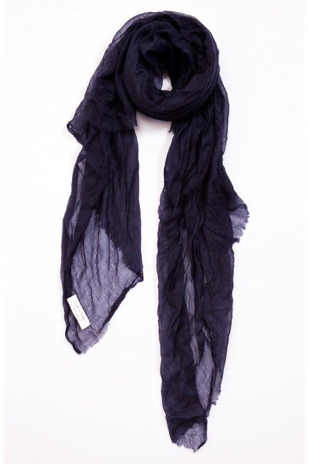 Тънък шал цвят индиго Rag and bone есен зима 2012