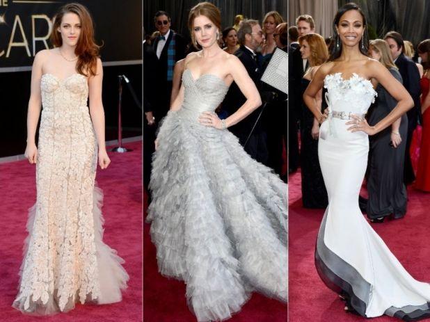 Роклите на звездите на церемонията на Оскарите 2013