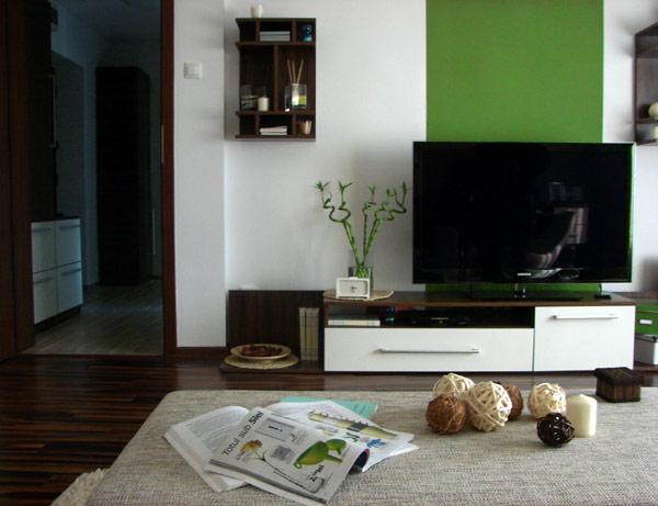 Свеж апартамент в Букурещ - дневна