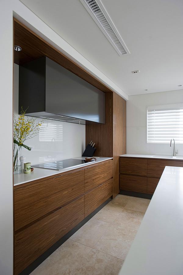 Малък апартамент в Сидни - кухня