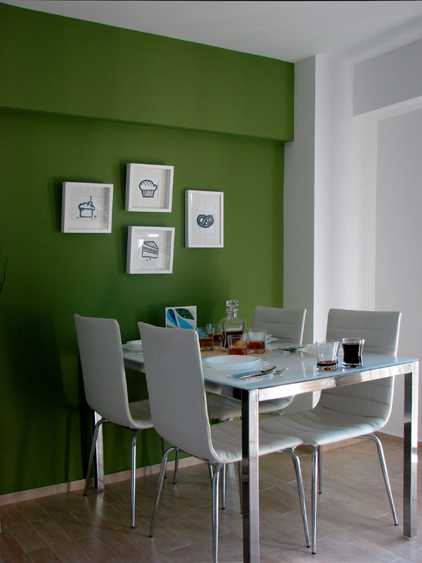 Свеж апартамент в Букурещ - кът за хранене