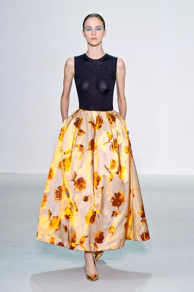 The Statement Piece Бална пола Dior's Spring 2013 collection