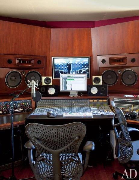 Домът на Уил Смит - звукозаписно студио