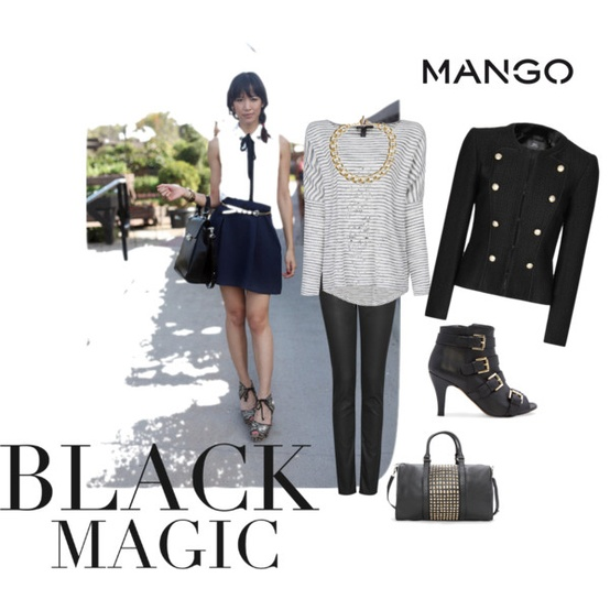Черна магия - фешън сет 2012 зима