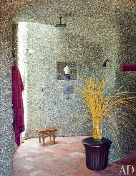 Домът на Уил Смит - душ в банята