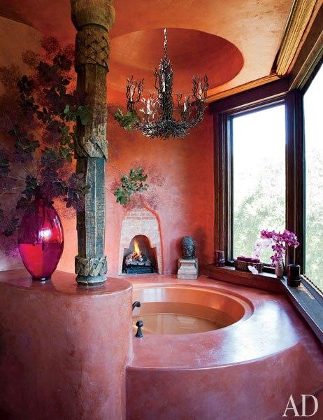 Домът на Уил Смит - луксозна баня