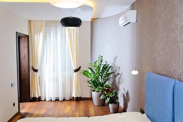 Модерен апартамент в Одеса - цветове в спалнята