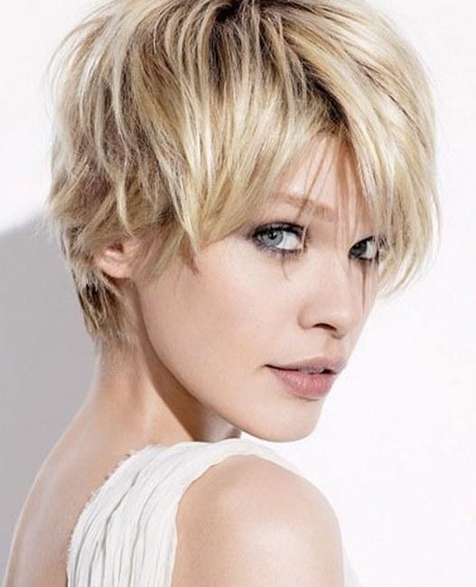 модерна прическа къса коса 2013
